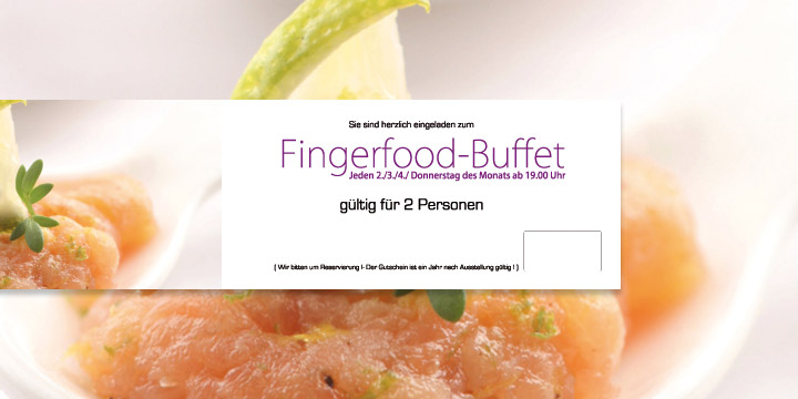 Gutschein Fingerfood-Buffet